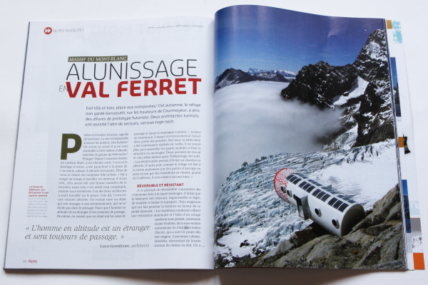 Alpes Magazine 133 Refuge Gervasutti